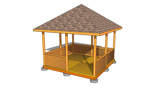 Gazebo railing plans