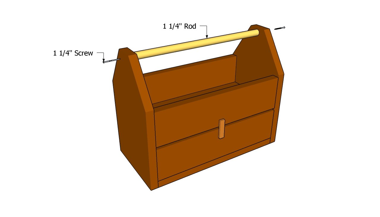 Wood Tool Box Plans | Free Outdoor Plans - DIY Shed, Wooden Playhouse ...