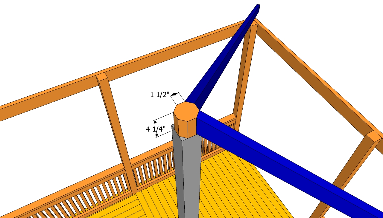 Gazebo Roof Plans Free Outdoor Plans Diy Shed Wooden