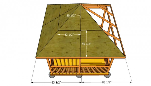 Gazebo Roof Plans Myoutdoorplans Free Woodworking