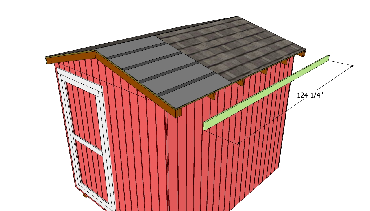 Building A Shed Roof Free Outdoor Plans Diy Shed