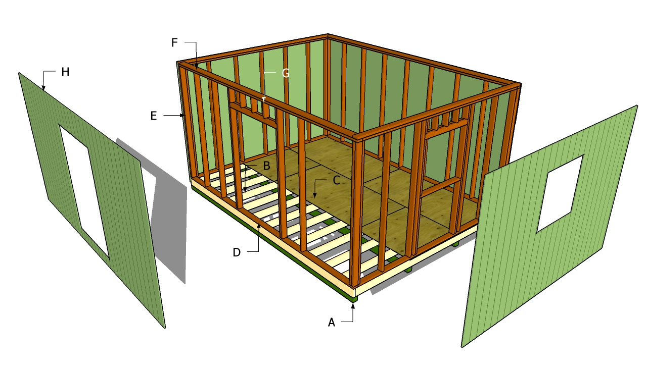Large Storage Shed Plans