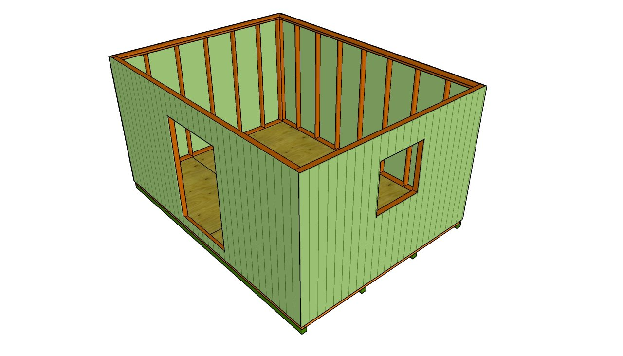 Large Shed Plans | MyOutdoorPlans | Free Woodworking Plans