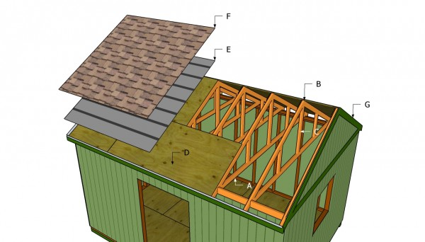 Large shed roof plans