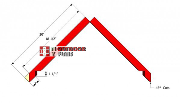 Rafter-plans-for-dog-house