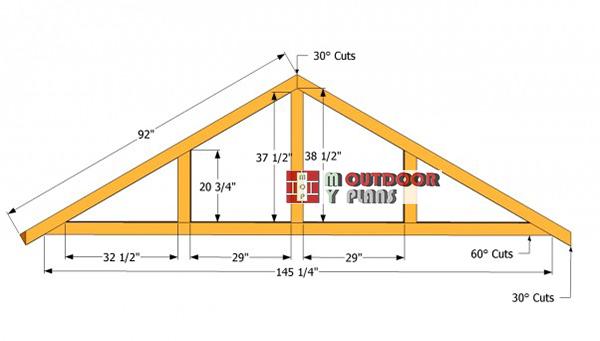 Roof-trusses-plans