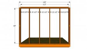 Side walls plans