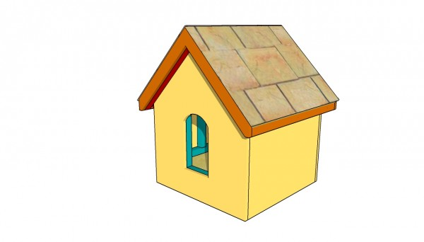 Small dog house plans