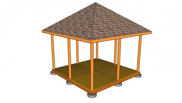 Square gazebo