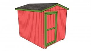 Utility shed roof plans