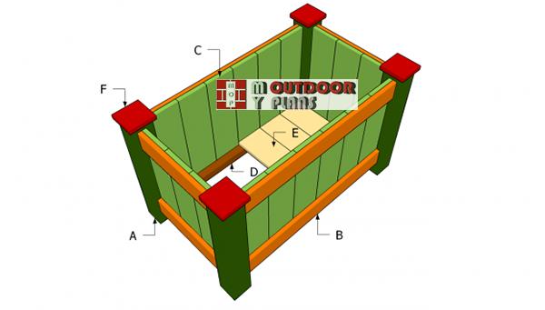 Building-a-deck-planter