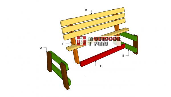Building-a-garden-seat