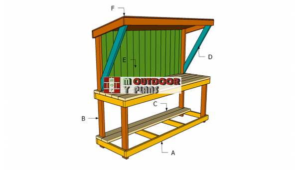Building-a-garden-work-bench-