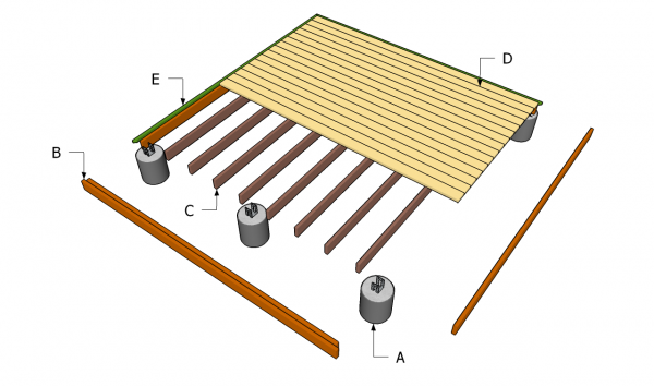 how to build wood deck on ground pdf woodworking