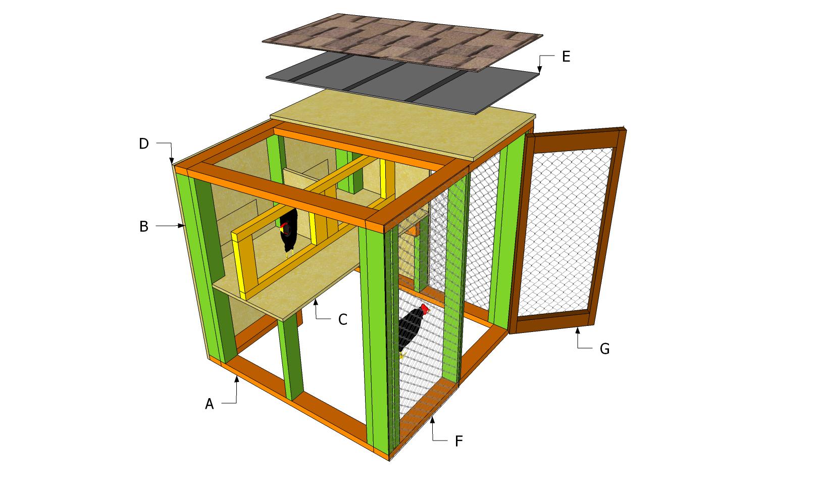 Building a simple chicken coop