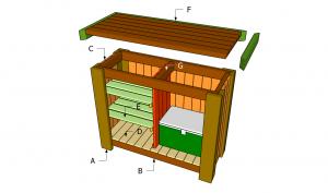 Building an outdoor bar