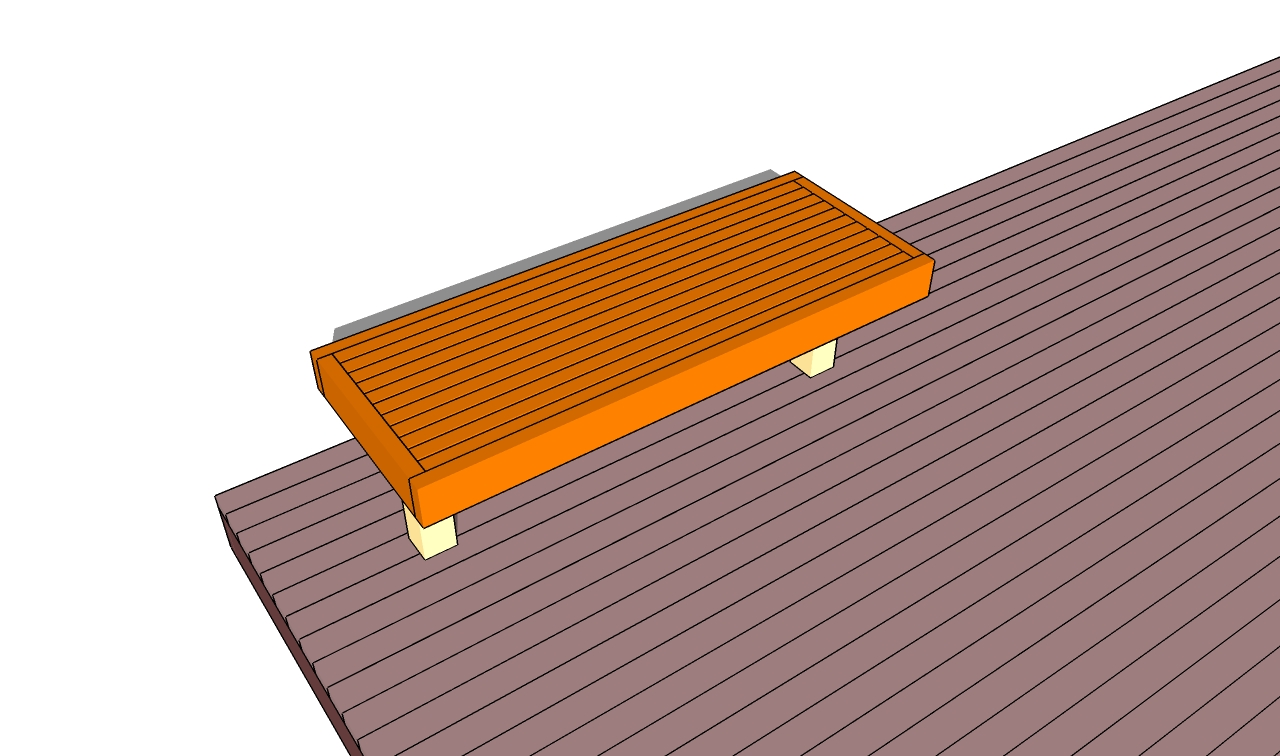 Building a Deck Frame Deck Bench Plans Deck Stairs Plans