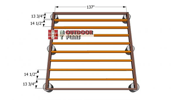 Deck-frame-plans
