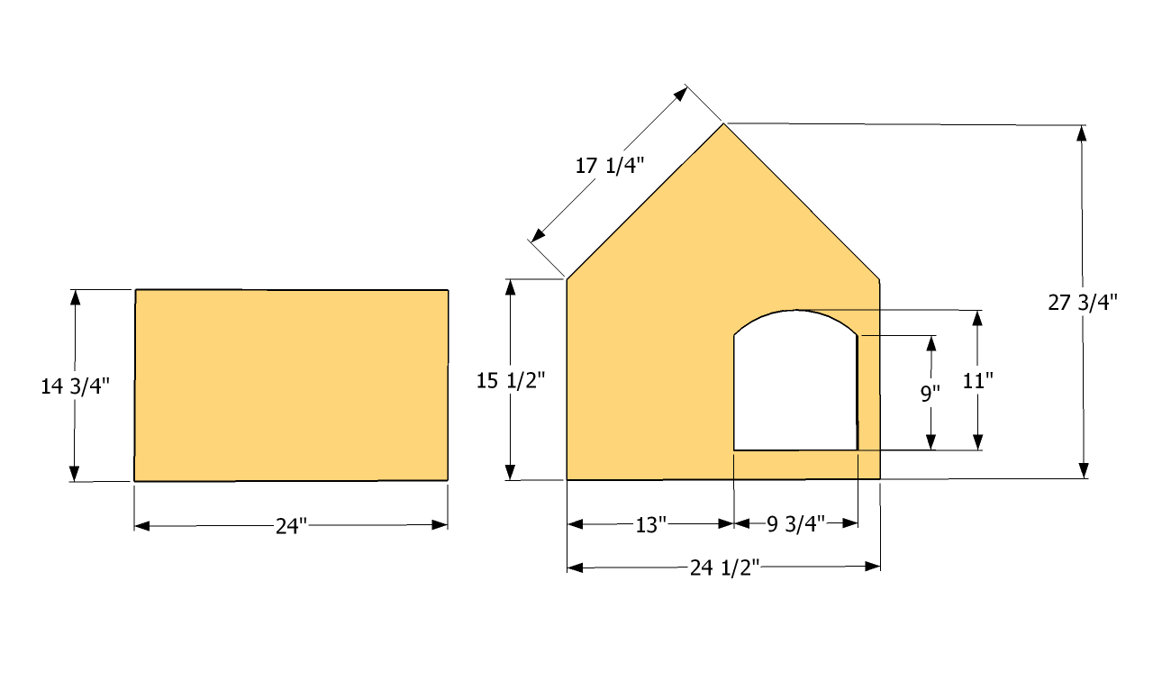 cat house building instructions