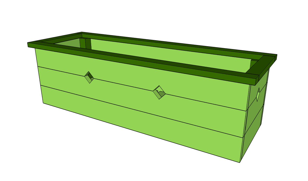 Plans For A Flower Box
