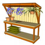 Garden Work Bench Plans