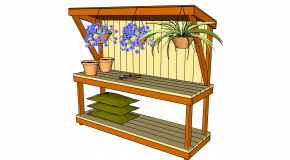 potting desk plans