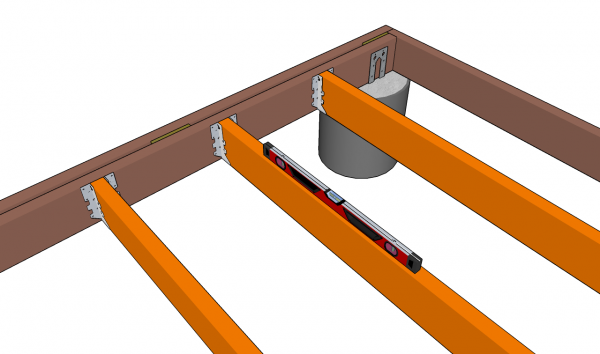 Installing the joists
