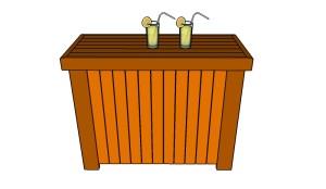 Outdoor bar plans