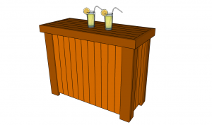 Outdoor bar plans