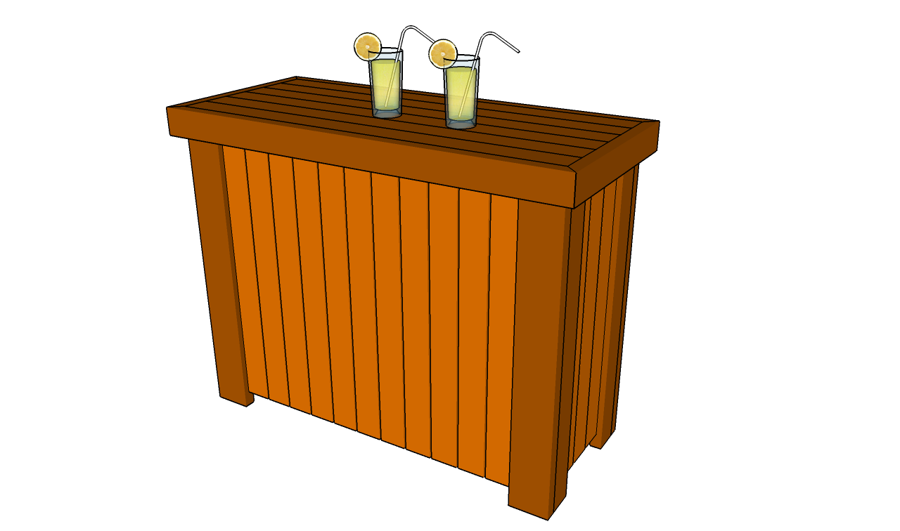 Outdoor bar plans free outdoor plans diy shed wooden for Wooden bar design