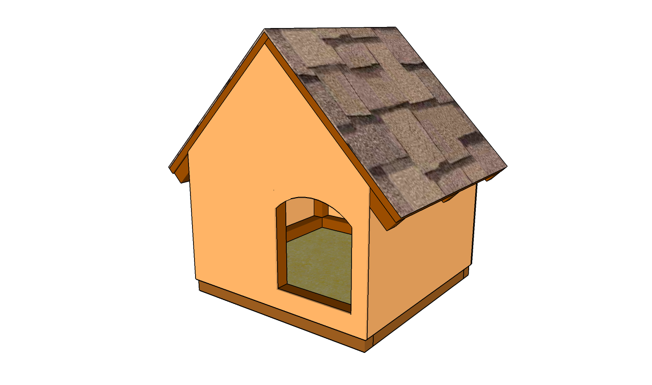 Simple dog house plans small dog house plans outdoor cat house plans