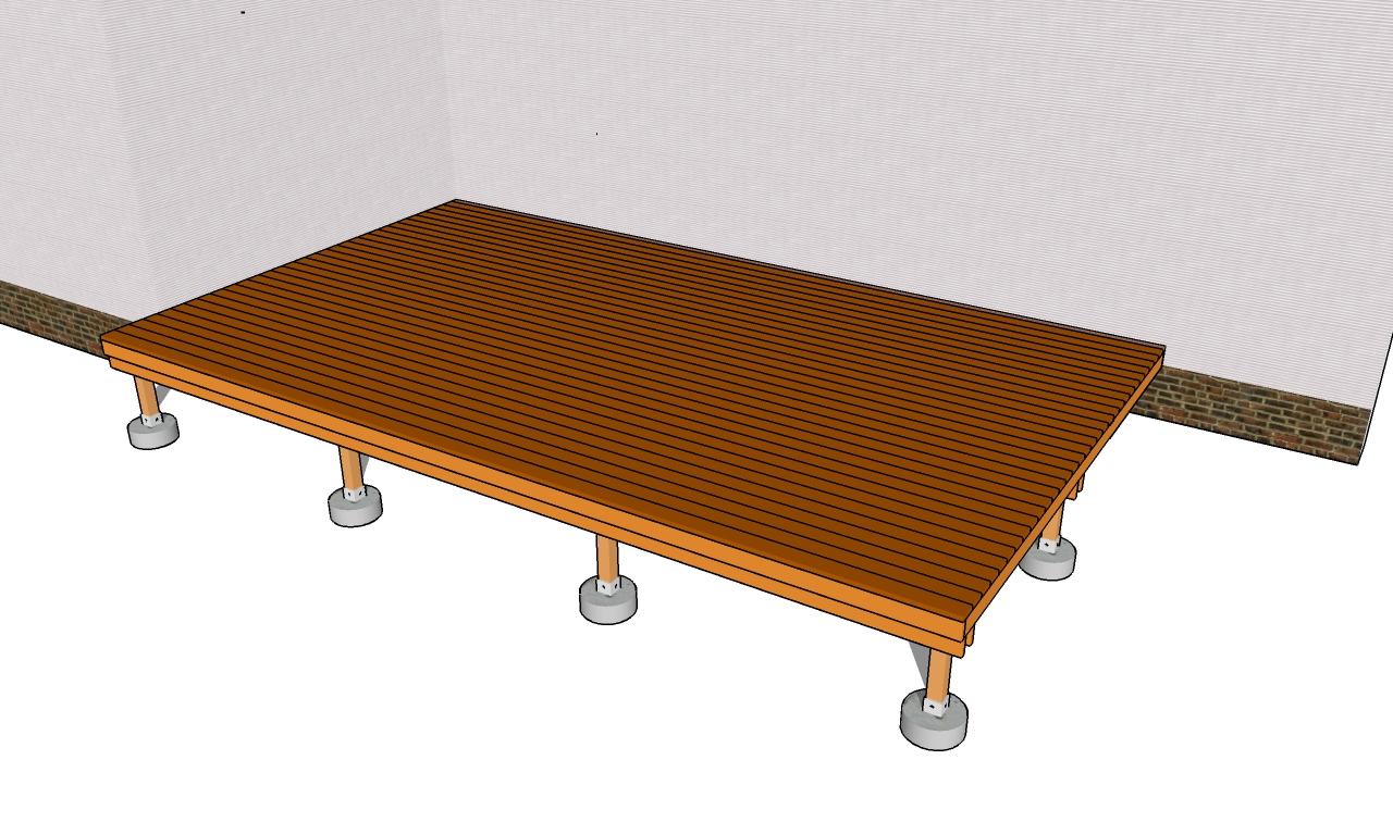 Building a Deck Frame