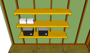 Shed shelving plans