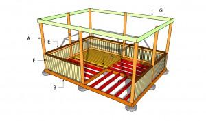Building a rectangular gazebo