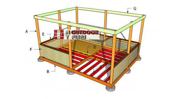 Building-a-rectangular-gazebo