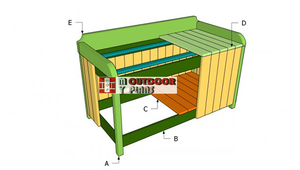 Building-an-outdoor-storage-bench