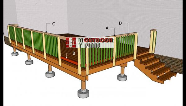 Building--deck-railing