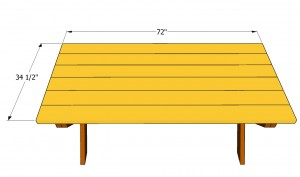 Picnic Table Bench Plans Free Outdoor Plans Diy Shed