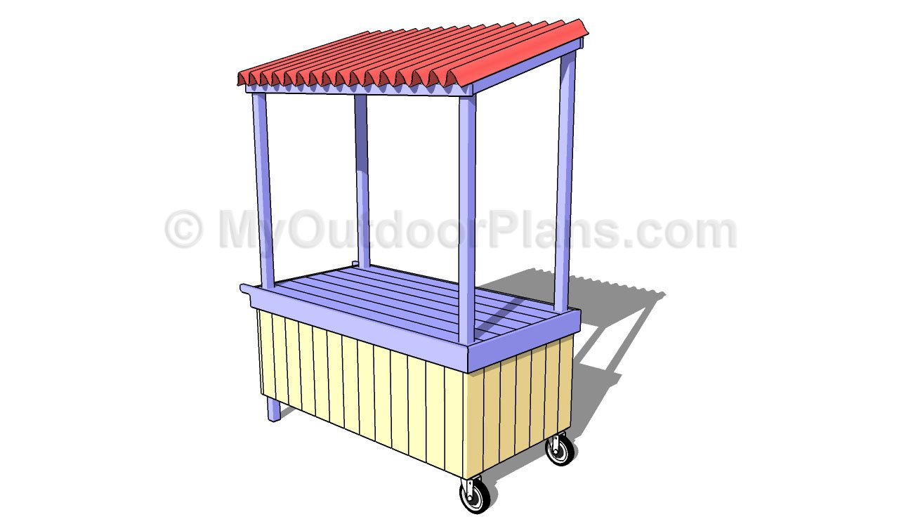 Lemonade Stand Plans | Free Outdoor Plans - DIY Shed, Wooden Playhouse ...