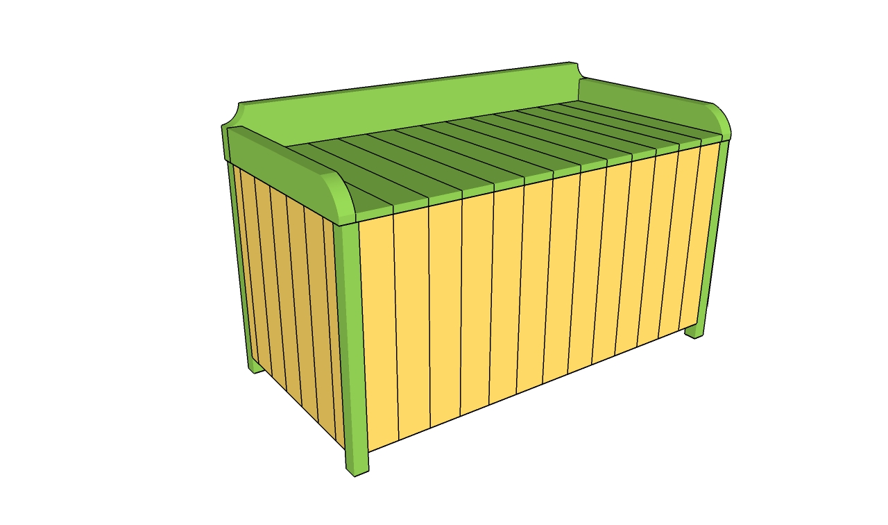 Outdoor Storage Box Plans | Free Outdoor Plans – DIY Shed, Wooden