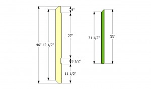 Posts and balusters plans