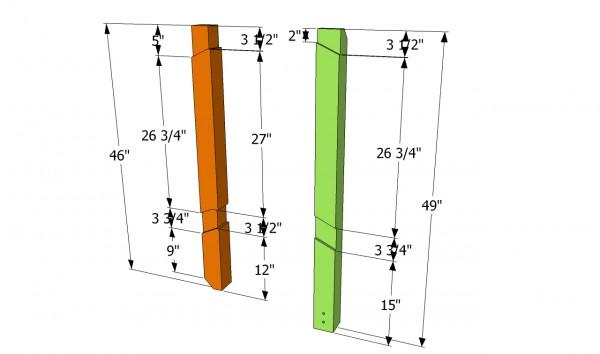 Deck Stair Railing Plans. Posts Plans