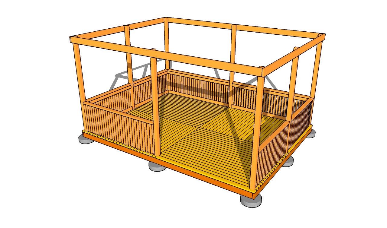 Construction Pergola Bois Plan rectangular gazebo plans | myoutdoorplans | free woodworking