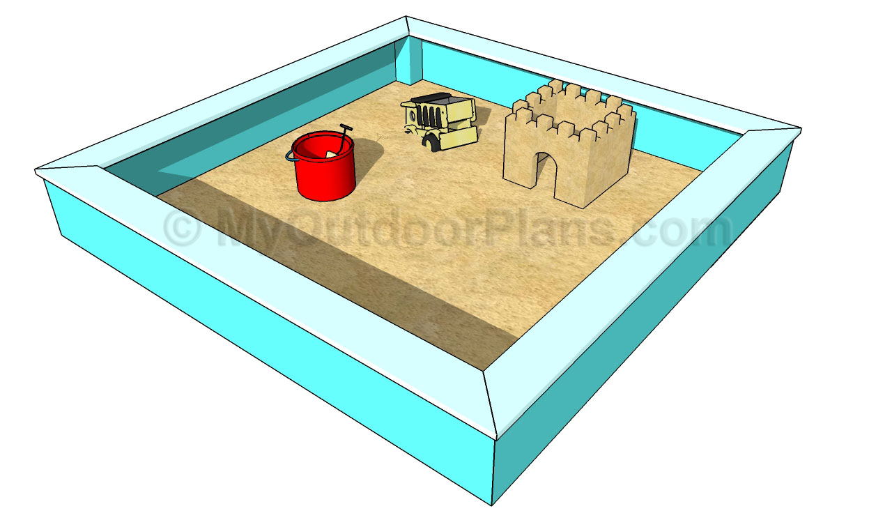 Sand Box Plans