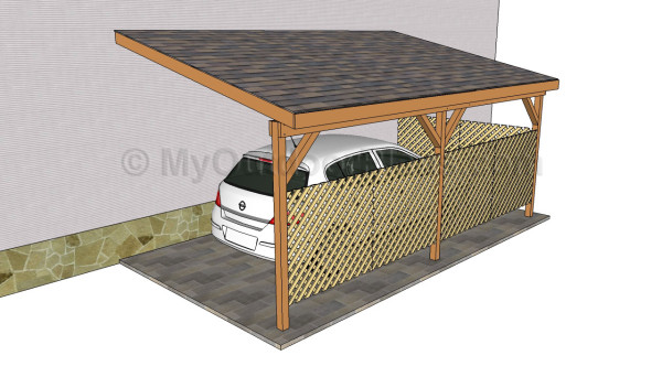 Wood carport designs myoutdoorplans free woodworking for Timber carport plans