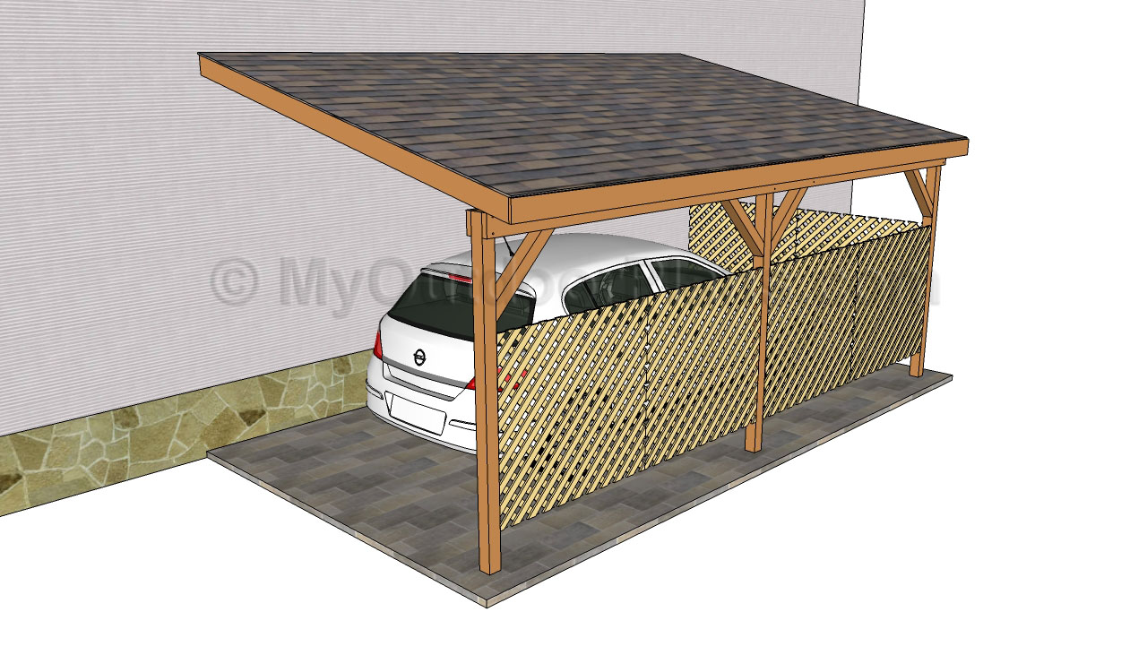 Pdf diy how to build an attached carport plans download Wood carport plans free