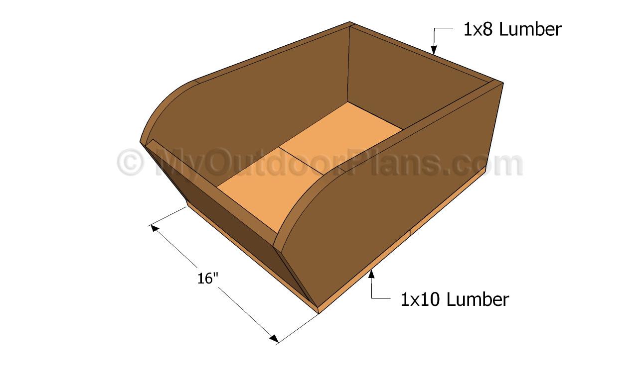 Model Wooden Wheelbarrow Plans