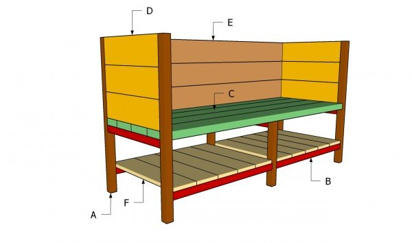 Raised Planter Box Plans | MyOutdoorPlans | Free Woodworking Plans and ...
