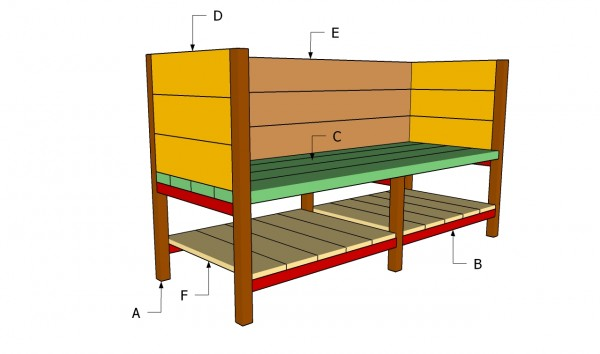 Building a raised planter box