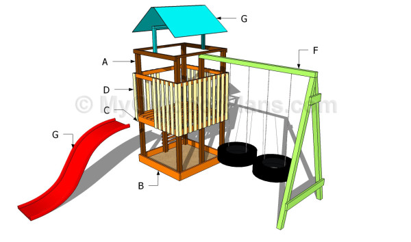 Woodwork Childrens Playset Plans Pdf Plans